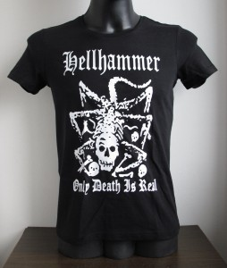 Girly babydoll t-shirt HELLHAMMER - Only Death Is Real [M]
