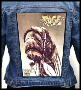 RAGE - Perfect Man -- Backpatch