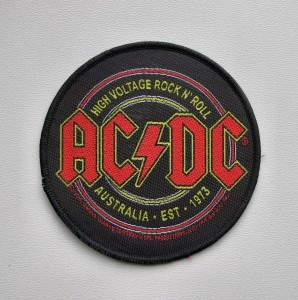 AC/DC - High Voltage Rock N Roll -- Woven Patch