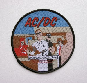 AC/DC - Dirty Deeds Done Dirt Cheap  -- Woven Patch