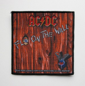 AC/DC - Fly on the Wall -- Woven Patch