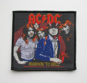 AC/DC - Highway to Hell -- Woven Patch