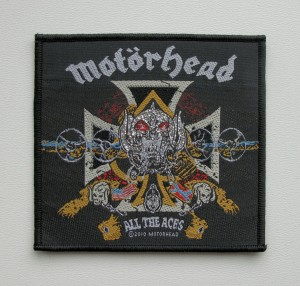 MOTORHEAD - All The Aces -- Woven Patch