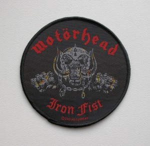 MOTORHEAD - Iron Fist -- Woven Patch