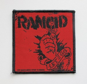 RANCID - Lets Go [1995] -- Woven Patch