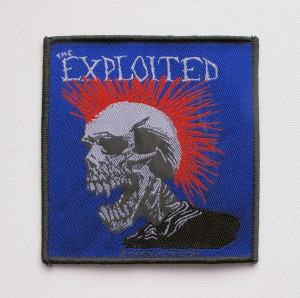 THE EXPLOITED [1994] -- Woven Patch