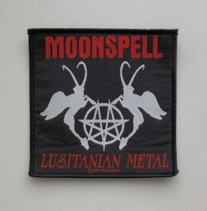 MOONSPELL - Lusitanian Metal -- Woven Patch