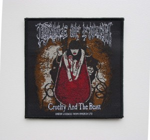 CRADLE OF FILTH - Cruelty and the Beast -- Woven Patch
