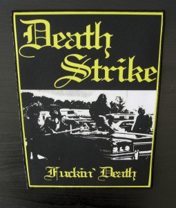DEATH STRIKE - Fuckin Death -- Backpatch
