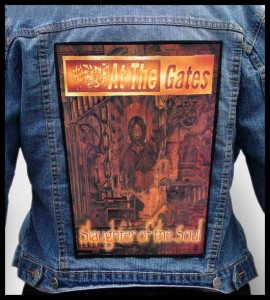AT THE GATES - Slaughter of the Soul -- Backpatch