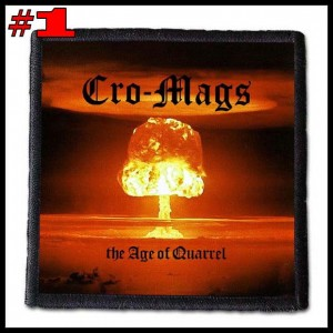 CRO-MAGS -- Patch