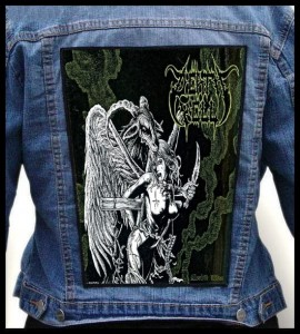 DEATH YELL - Morbid Rites -- Backpatch