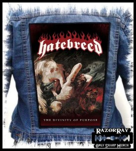 HATEBREED - The Divinity Of Purpose -- Backpatch