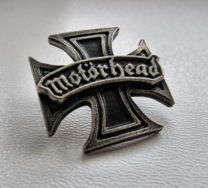 MOTORHEAD - Iron Cross -- Metal Pin