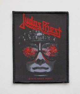 JUDAS PRIEST - Hell Bent for Leather -- Woven Patch
