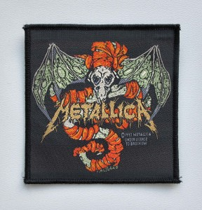 METALLICA - Wherever I May Roam [1993] -- Woven Patch