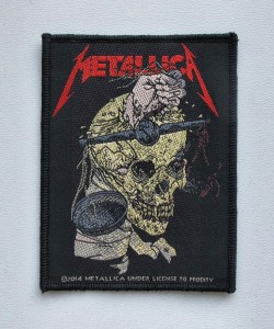 METALLICA - Harvester of Sorrow -- Woven Patch