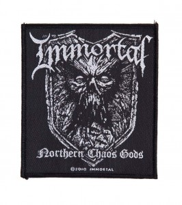 IMMORTAL - Northern Chaos Gods -- Woven Patch