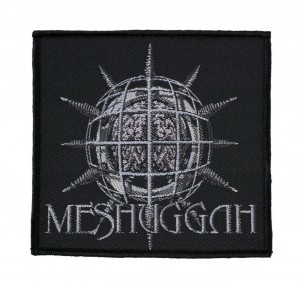 MESHUGGAH - CHAOSPHERE -- Woven Patch