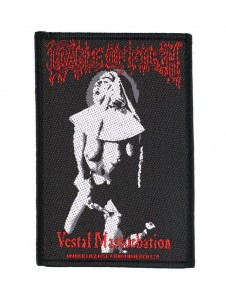 CRADLE OF FILTH - - Vestal Masturbation -- Woven Patch