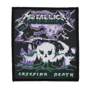 METALLICA - CREEPING DEATH  -- Woven Patch