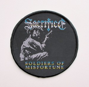 SACRIFICE - Soldiers of Misfortune -- Woven Patch