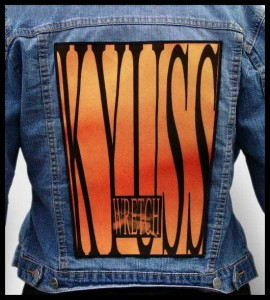 KYUSS - Wretch -- Backpatch