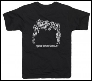 T-shirt MESSIAH - Hymn to Abramelin