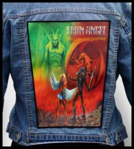 IRON ANGEL - Hellish Crossfire -- Backpatch