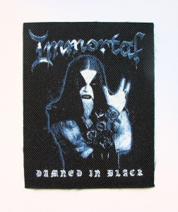 IMMORTAL - Damned In Black --  Patch
