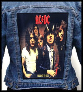 AC/DC - Highway To Hell -- Backpatch