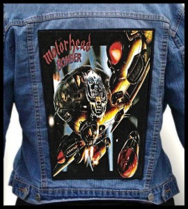 MOTORHEAD - Bomber -- Backpatch