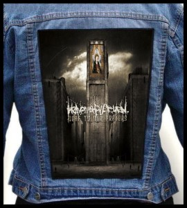 HEAVEN SHALL BURN - Deaf To Our Prayers -- Backpatch