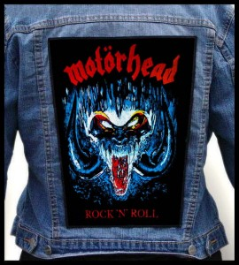 MOTORHEAD - Rock ' N' Roll -- Backpatch