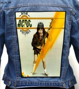 AC/DC - High Voltage -- Backpatch