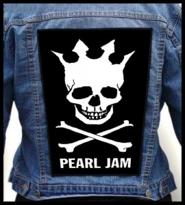 PEARL JAM - Skull -- Backpatch