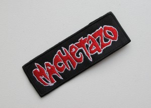 MACHETAZO -- Embroidered Patch