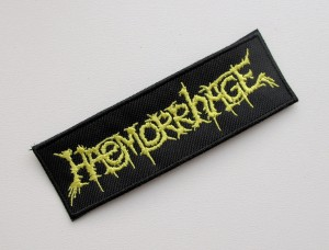 HAEMORRHAGE -- Embroidered Patch