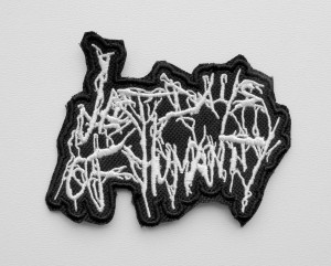 LAST DAYS OF HUMANITY  -- Embroidered Patch