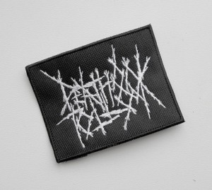 DEATH TOLL 80K -- Embroidered Patch