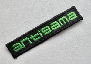 ANTIGAMA  -- Embroidered Patch