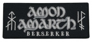 AMON AMARTH - Berserker -- Embroidered Patch