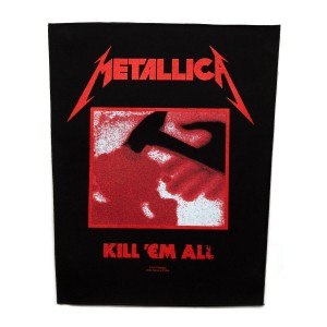 METALLICA - KILL 'EM ALL -- Official Backpatch