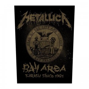 METALLICA - BAY AREA THRASH  -- Official Backpatch