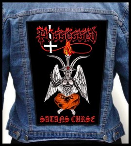 POSSESSED - Satans Curse -- Backpatch
