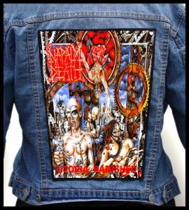 NAPALM DEATH - Utopia Banished -- Backpatch