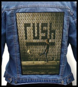 RUSH - Roll The Bones -- Backpatch