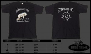 T-shirt DESTROYER 666 - Unchain the Wolves #2