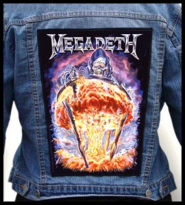 MEGADETH - Mushroom Cloud -- Backpatch