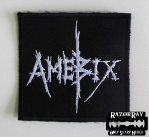 AMEBIX [white] -- Embroidered Patch